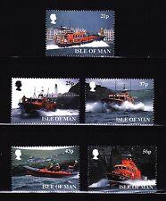 SELLOS BARCOS ISLA DE MAN 1999 838/42 175 A.  Royal Nat. Lifeboat 5v