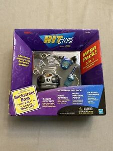 Hit Clips-Micro Music System Grove Machine Toy Featuring Backstreet Boys
