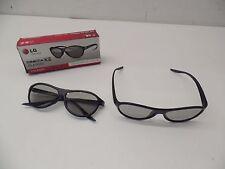 2 pk LG Cinema 3D Glasses AG-F310