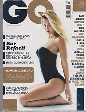 GQ ESPANA SPAIN Magazine ENERO 2012, BAR REFAELI SEALED.