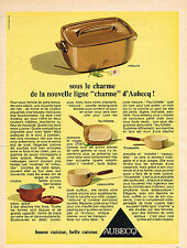 PUBLICITE ADVERTISING 024   1967   AUBECQ  casseroles  LA MITOUNE
