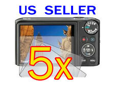 5x Canon PowerShot SX260 HS Camera LCD Screen Protector Cover Guard Shield Film