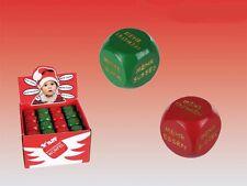 Würfelspiel Weihnachten Würfel für Entscheidungen Weihnachtsdeko NEU