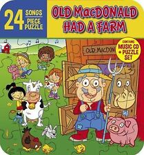 Old Macdonald Had a Farm Music Cd Plus Puzzle Set Mr. Ray The Sunshine Kids