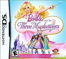 Barbie and the Three Musketeers (Nintendo DS) Lite Dsi xl 2ds 3ds xl
