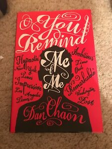 You Remind Me of Me by Dan Chaon (Paperback, 2005)