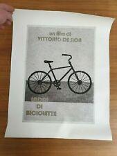 Ladri di biciclette (The Bicycle Thief) Minimalist  Movie Print 42X53cm