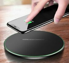 Qi Wireless Charger For iPhone 8 X XR XS Max QC3.0 10W Fast Charging Adapter