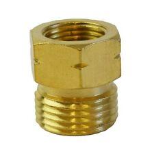 Tuyau à gaz Adaptateur 21.8-14 à G 3/8-19 régulateur Bouteille PIPE brûleurs Brass THREA
