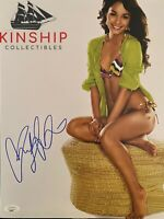Vanessa Hudgens signed 11x14 Photo JSA COA Hot Sexy Actress B730