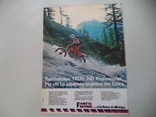 advertising Pubblicità 1979 MOTO FANTIC TRIAL 200 PROFESSIONAL