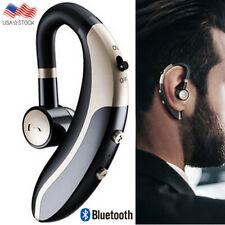 Wireless Bluetooth Headset Earphone Earpiece for iPhone Samsung S20 S10 S9 J7 Lg