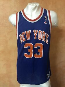 NBA New York Knicks Champion Trikot #33 Patrick Ewing 90er Vintage