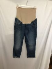 Old Navy Maternity Jean Capris 8 Regular Belly Panel