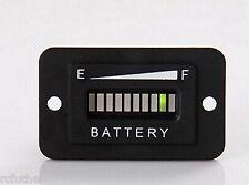 Golf Cart 36V Battery Charge Meter Club Car Yamaha,EZGO Panel Mount  generic