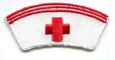 NURSE CAP IRON ON APPLIQUE
