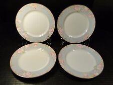 """FOUR Mikasa Braemar Salad Plates 7 1/2"""" L2031 Set of 4 EXCELLENT"""