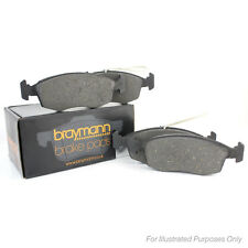 130.8mm Wide Braymann Front Brake Pads Set Genuine OE Spec Service Replacement