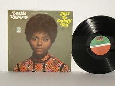 LESLIE UGGAMS Just To Satisfy You Vinyl LP 1969 Atlantic Issue Soul Plays Well