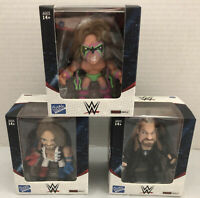 Lot of 3 The Loyal Subjects WWE Figures Ultimate Warrior, AJ Styles & Undertaker