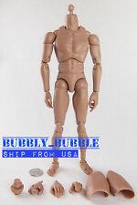 1/6 Narrow Shoulder Nude Figure Ver 4 For Hot Toys TTM18 TTM21 ☆SHIP FROM USA☆