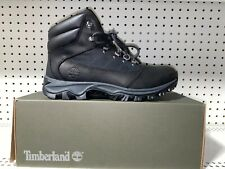 Timberland Rangeley Mens Leather Athletic Hiking Trail Boots Size 9.5 Black