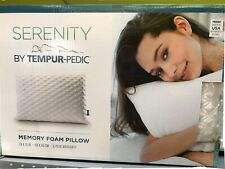 Serenity by Tempur-Pedic Memory Foam Bed Pillow * Free Shipping *