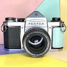 Asahi Pentax H1a 35mm SLR Camera W/ Meyer Optik Lydith F3.5 35mm Lens! Working