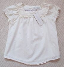 Rocha Little Rocha Cream Blouse (Size 3-4 Years)