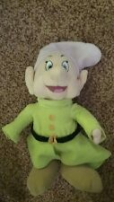 Snow White and The Seven Dwarfs 11in Plush Dopey