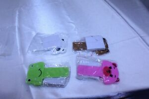 Set of 4 Different Toilet Seat Lifters Animal Theme
