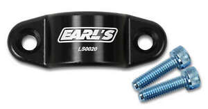 """Earl's LS0020ERL GM LS Oil Cooler Block Off Plate with 1/8"""" NPT Port"""