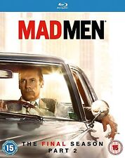 Mad Men Complete Series 7 Part 2 Blu Ray All Episode Seventh Season Original UK