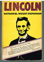 Lincoln by Nathaniel Wright Stephenson 1924 Civil War Vintage Reprint Book!