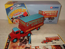 Corgi 97303 Bedford O Articulated Truck Chipperfields Circus in 1:50 Scale.