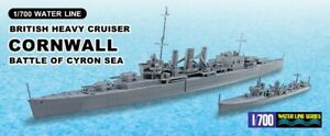 AOSHIMA 05672 1/700th SCALE HMS CORNWALL LIMITED EDITION PLASTIC MODEL KIT