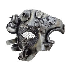 Mechanical Phantom Steampunk Masquerade Mask