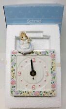 1990 Hunca Munca W/Baby Beatrix Potter Clock