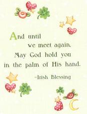 Irish Blessing-Until We Meet Again-Handcrafted Magnet-W/Mary Engelbreit art