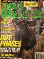 Deer And Deer Hunting Nov 2001, How And When To Hunt The Rut