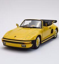 Revell 08807 Porsche 930 Turbo Sportwagen in gelb lackiert 1:18, OVP, K025