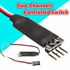 Two-Way Channel Switch Fernbedienung Auto Lichter Empfänger Kabel Für RC Auto TT