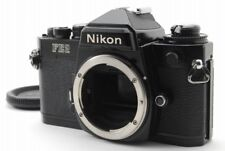 Nikon FE2 35mm SLR Film Camera Body Only  w/Titanium Shutter&Eyepiece【Ext+++++】