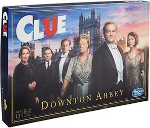 NEW CLUEDO DOWNTON ABBEY EDITION CLASSIC MYSTERY BOARD GAME E8626
