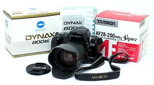 ✮ Minolta Dynax 800si mit Tamron 28-200mm Objektiv OVP / vom Händler!