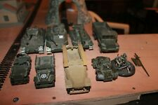 Lot tank voitures militaires Solido