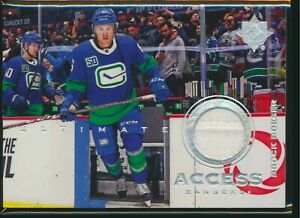 2019-20 Upper Deck Ultimate Collection Access Jersey Relic Brock Boeser