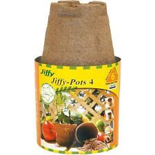 """Jiffy 6Pk 4"""" Round Peat Pots"""