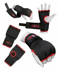 Hand Wrap Black Padded GEL inner boxing glove UFC Quick wraps Adult XL bandage