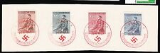 Germany WWII Bohemia Moravia Hitler Birthday Set & 1 Day Only Cancel Souvenir K